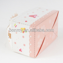 Simple design cake handle box packaging