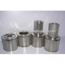 Cartucho de filtro de chapa perforada