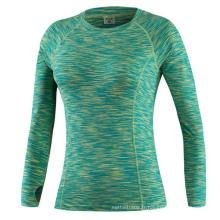 Sweat rapide manches longues femme fitness T-shirt sport