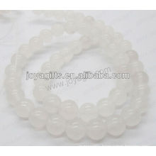 White marble round beads/4mm/6mm/8mm/10/mm/12mm grade A