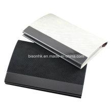 Подгонянный держатель визитной карточки логоса / держатель кредитной карточки для подарка