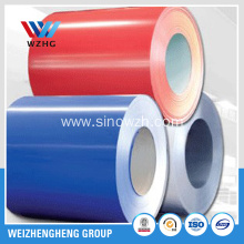 Prepainted GI sheet sheet Red colour RAL 3020