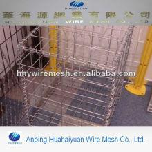 hesco barrier wall welded gabion box galvanized welded gabion mesh flood barrier wall