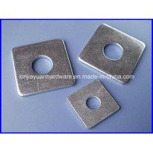 Rondelle carrée à plat en acier inoxydable