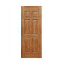 6 Panel Interior Veneered Door with HDF Molded Skin