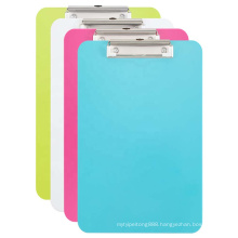 Comix Colorful Retractable Hanging Hole Rounded Corner A4 Clip Board Office Accessories
