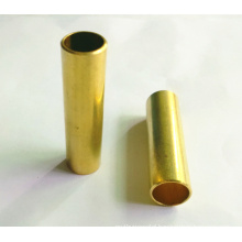 Precision Turning Part with Golden Yellow Oxidation,