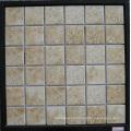 Azulejo de cuero de imitación, Azulejo de mosaico de cerámica