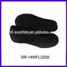 SR-14WFL2209 zapatos al por mayor de encargo de la muchacha del niño del zapato de la muchacha del niño de los zapatos