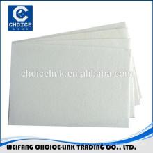 Polyester nonwoven felt for APP/SBS waterproof membranes