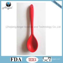Colher de cozinha anti-Stick Silicone para cozinhar ferramenta colher de sopa de silicone Sk15