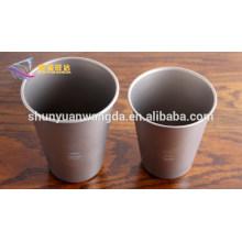 popular 330ml beer titanium cup, titanium cup, titanium mug for beer