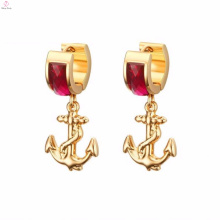 Fashionable 2018 Fashion Custom Natural Stone Earring Jewelry