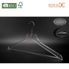 Deluxe Transparent Acrylic Clothes Hanger for Coat