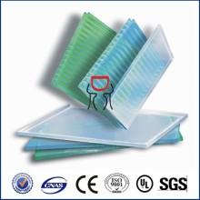 4мм/6мм/8мм/10мм двухслойного поликарбоната полый лист