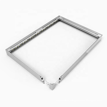 1*2 meter global glaze new product advertising 120mm thickness slim light box