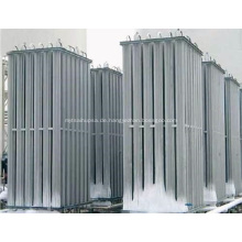 LOX LIN LAR LNG Umgebungsluftverdampfer