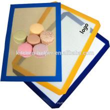 Top Selling China Professional Manufacturer Reusable Food Grade Heat Resistant Nonstick Silicone Fiberglass Baking Mat