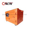 High Quality 10kVA 8kw 8000W 220V 110V 100rpm 3 Phase AC Small Water Diesel Generator Portable Inverter Generator with ATS