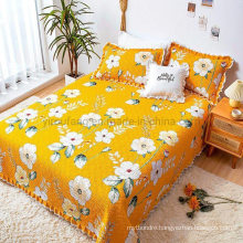 Luxe Hotel Bed Spread Queen Soft for Spring and Summer