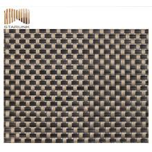 tejido textil de cortina resistente a los rasgaduras y a prueba de moho con precio de fábrica