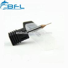 Moinho de extremidade de BFL 0.5mm, moinhos de extremidade do metal 0.5mm do carboneto, mini moinhos de extremidade do diâmetro