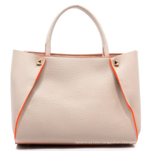 Made in Guangzhou Newest High Quality PU Leather Woman Handbag