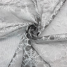 American Tulle with White Spider Web for Halloween