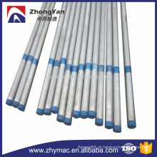 quente de aço carbono laminado galvanizado tubo
