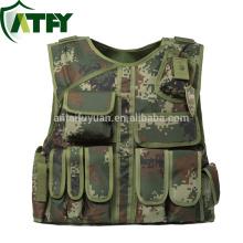 Ropa de camuflaje kevlar para chaleco antibalas de uniforme militar.