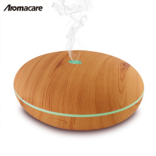 400ml Essential Oil Diffuser Wood Wholesale Aromatherapy Aroma Diffuser Humidifier Colorful LED Night Lamp