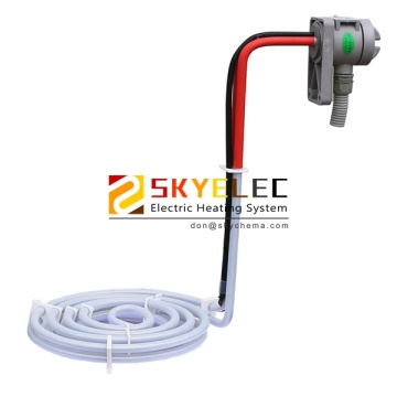 PTFE Coil Shape Immersion Heater