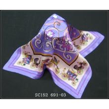 SC152(691) fashion ladies silk scarf