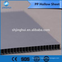 4mm 800gsm blue color PP Hollow sheet