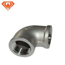 Colocación de tubo del conector de la entrerrosca de la manguera del hilo masculino del acero inoxidable