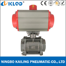 Dn50 Double Acting Pneumatic Actuator Ball Valve for Water Q611f