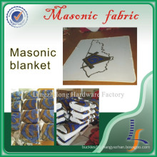 Wholesale Custom a White Masonic Blanket