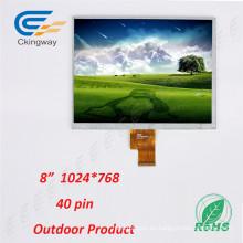 Sistema de control de la industria de interior al aire libre TFT LCM Transpatent LCD Display