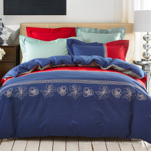 Mini Comforter Duvet Cover Bedding Set Linen