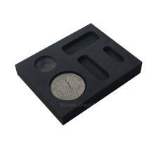 Moule de pièce de monnaie en graphite lingot personnalisé pour la coulée