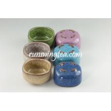Ensembles de tasses à thé carrées populaires en gros