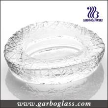 Cendrier en verre rond (GB2013-1)