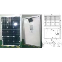 Módulo fotovoltaico monocristalino del panel solar de 18V 60W con Ce aprobado