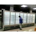 Холодильник для холодных напитков с двумя раздвижными дверями
