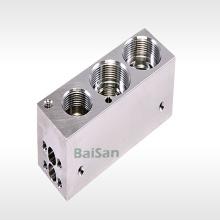 Piezas de cuerpo de válvula de precisión personalizada Mecanizado CNC