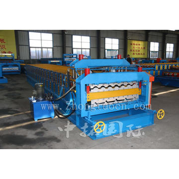 Metal Sheet Double Roof Roll Forming Machine