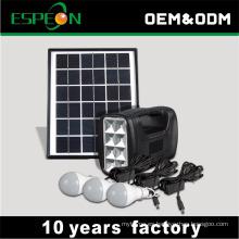 5w fuera del sistema de luces de energía solar de red mejor vendido en África