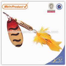 SPL005 3.5g, porcelaine gros alibaba pêche leurre composant moule spinner leurre