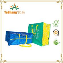 PP Woven Garment Bag/ Laminated Woven Bag with Zipper