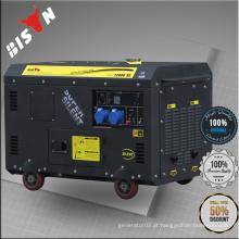 BISON Refrigerado a ar 10 kva 10kw gerador a prova de som diesel 10kva silencioso gerador diesel lista de preços